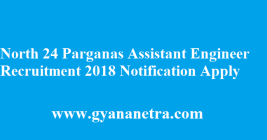 North 24 Parganas Assistant Engineer Recruitment 2018