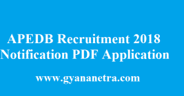 APEDB Recruitment 2018