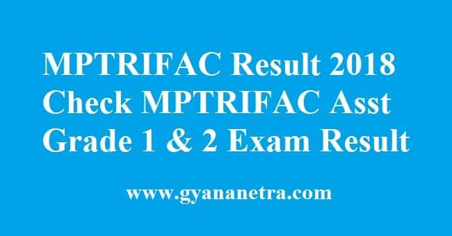 MPTRIFAC Result