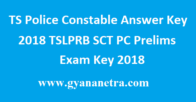 TS Police Constable Answer Key