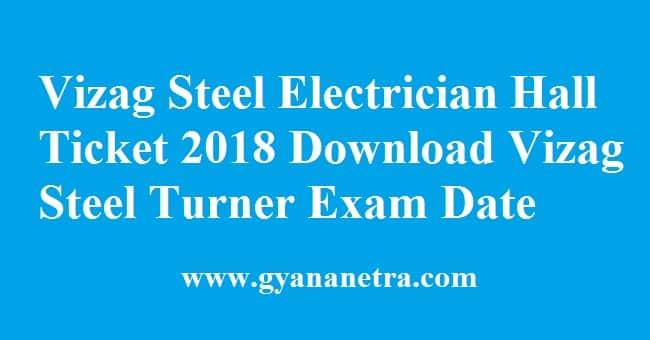 Vizag Steel Electrician Hall Ticket