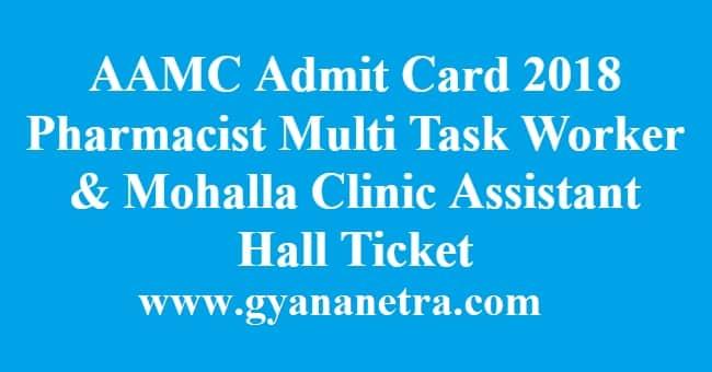 AAMC Admit Card