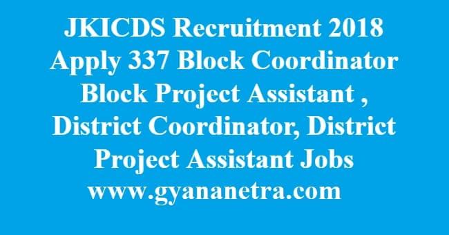 JKICDS Recruitment