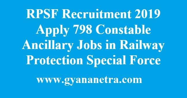RPSF Recruitment