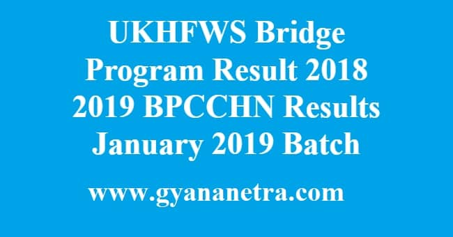 UKHFWS Bridge Program Result