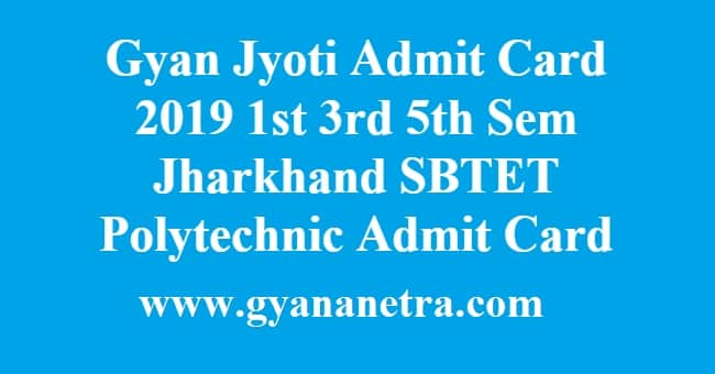 Gyan Jyoti Admit Card