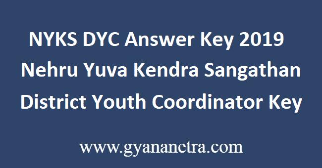 NYKS-DYC-Answer-Key-2019