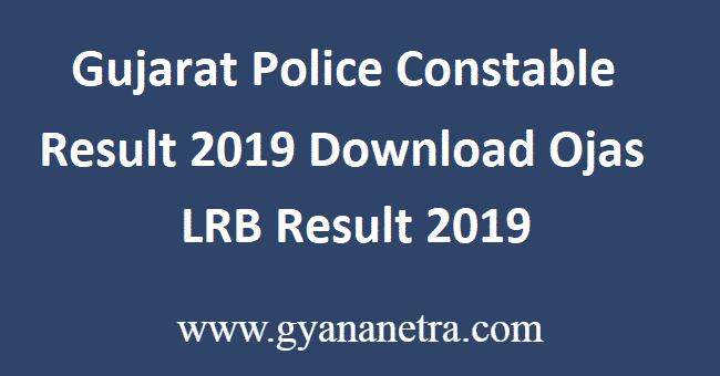 Gujarat-Police-Constable-Result-2019