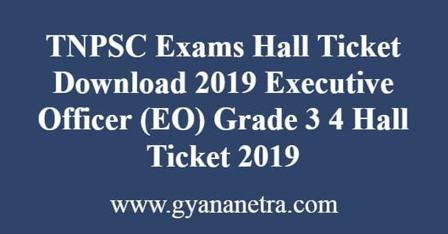 TNPSC Exams Hall Ticket Download