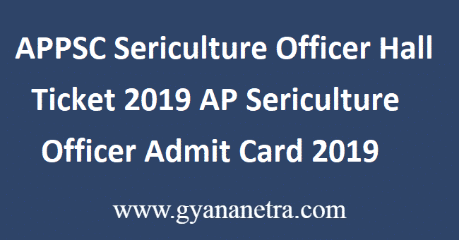 APPSC-Sericulture-Officer-Hall-Ticket