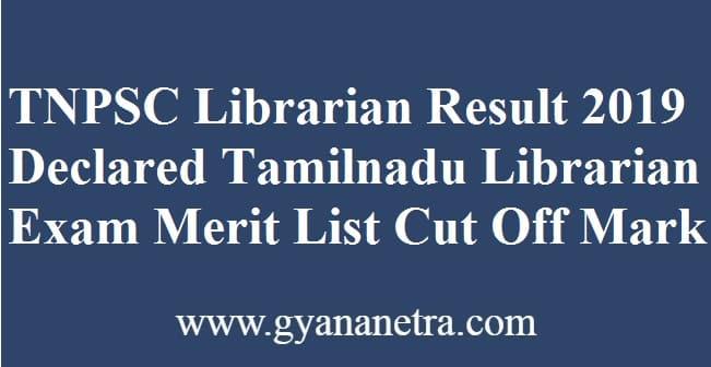 TNPSC Librarian Result