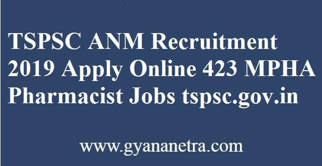 TSPSC ANM Recruitment