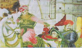 हाड़ी रानी और उसकी सैनाणी ( निशानी )