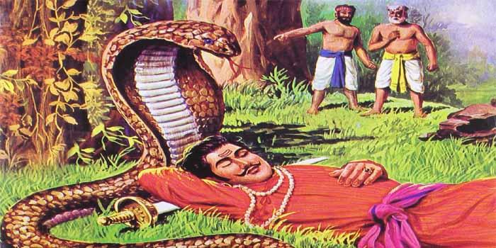 राणा सांगा के चित्र में सांप का रहस्य