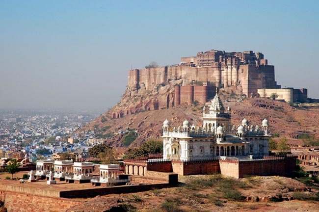 मयूरधुज गढ़ : मेहरानगढ़ जोधपुर