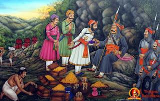 क्या हल्दीघाटी युद्ध के बाद महाराणा प्रताप के पास  धन की कमी थी ?