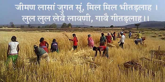 हठीलो राजस्थान-47, प्रकृति और संस्कृति पर दोहे