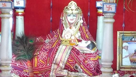 Sati Mata Dayal Kanwar Mandir, Khoor