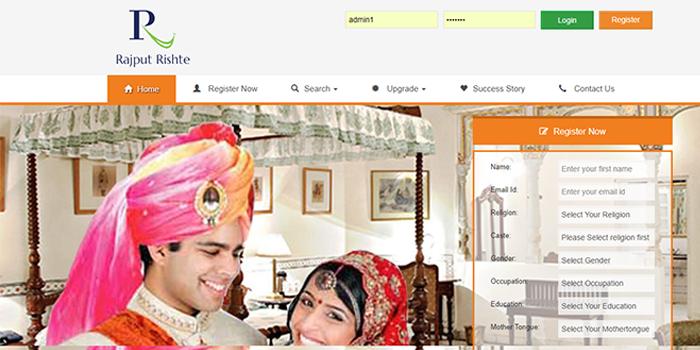 Rajput Matrimony Service,  Rajput Matrimonial Website
