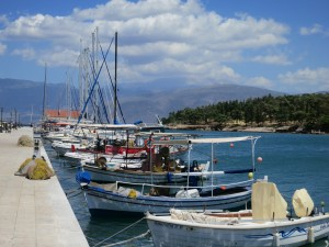 Photo: Fishing boats in Galaxidhi, Greece. Credit: Lisa Borre.