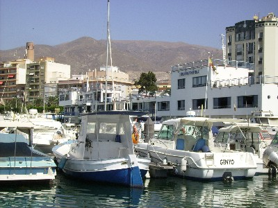 Photo: Real Club Nautico, Adra, Spain. Credit: Lisa Borre.