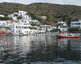 Photo: Katapola, Amorgos, Greece. Credit: Lisa Borre.