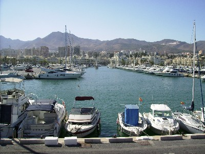 Photo: The huge marina at Benalmadena, Spain. Credit: Lisa Borre.