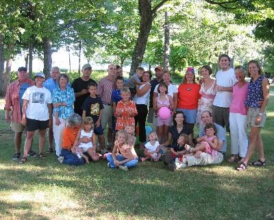 Photo: Beaver Cousin reunion 2005.