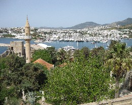 Photo: Bodrum Harbor, Turkey. Credit: Lisa Borre.