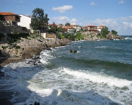 Photo: Sozopol, Bulgaria on the Black Sea. Credit: Lisa Borre.