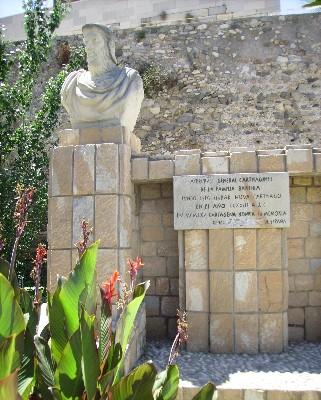 Photo: Monument in Cartagena, Spain. Credit: Lisa Borre.