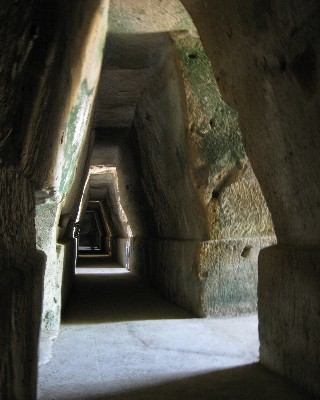 Photo: Sybil's cave in the acropolis at Cumae, Italy. Credit: Lisa Borre.
