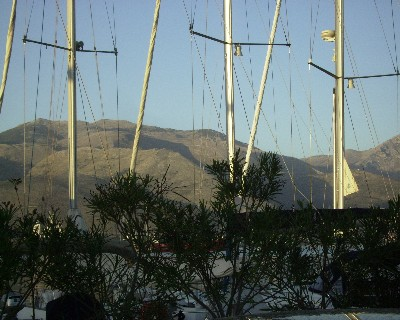 Photo: Sailboat masts in Gaeta, Italy. Credit: Lisa Borre.
