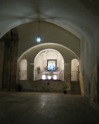 Photo: Chapel near the NATO base in Gaeta, Italy. Credit: Lisa Borre.