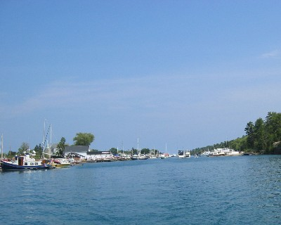 Photo: Killarney, Ontario at the east entrance to the North Channel. Credit: L. Borre.