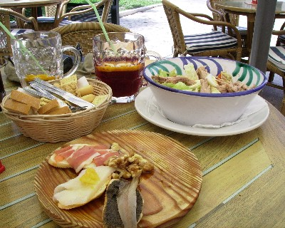 Photo: Tapas and sangria in Malaga, Spain. Credit: Lisa Borre.
