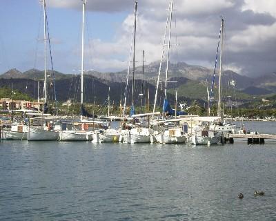 Photo: Local boats in Andraitx, Mallorca, Spain. Credit: Lisa Borre.