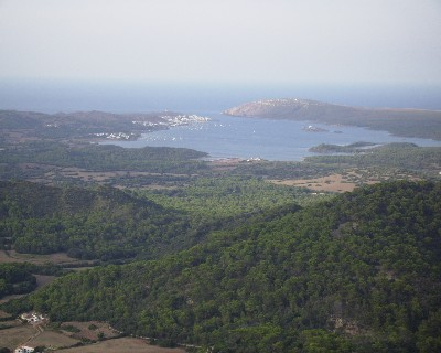 Photo: View to the north from Monte de Toro, Menorca, Balearic Islands, Spain. Credit: Lisa Borre.