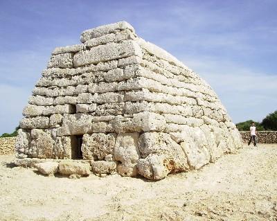 Photo: Bronze Age monument at Naveta des Tudons, Menorca, Spain. Credit: Lisa Borre.