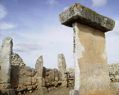 Photo: shrine for religious ceremonies in Talayotic town at Trepucó, Menorca, Spain. Credit: Lisa Borre.