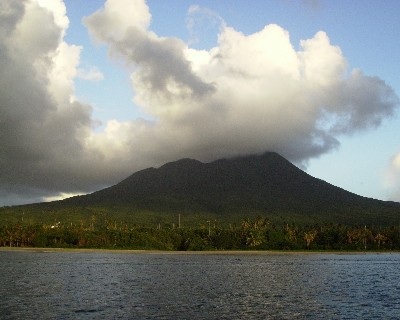 Photo: Nevis Island in Caribbean. Credit: Lisa Borre.