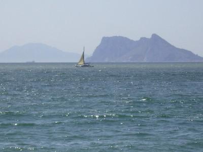 Photo: Pillars of Hercules, Strait of Gibraltar. Credit: Lisa Borre.