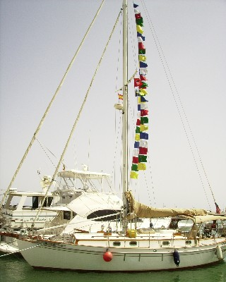 Photo: Tayana 37 Gyatso in Estepona, Spain. Credit: Lisa Borre.