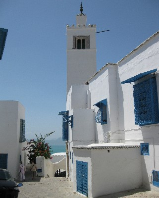 Photo: Sidi Bou Said, Tunisia. Credit: Lisa Borre.