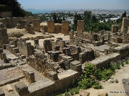 Photo: The ancient city of Carthage in Tunisia. Credit: Lisa Borre.