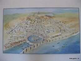 Image: Map of ancient Carthage. Credit: Lisa Borre.