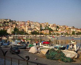 Photo: The fishing harbor in Ereğli, Turkey. Credit: Lisa Borre.