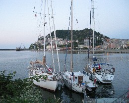 Photo: Giresun, Turkey harbor, Black Sea. Credit: Lisa Borre.