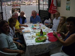 Photo: fish dinner in Rize, Turkey.
