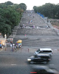 Photo: The Potempkin Steps in Odessa, Ukraine. Credit: Lisa Borre.